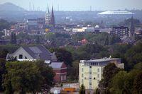 Blick auf Gelsenkirchen