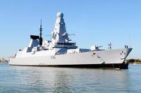 HMS Defender in 2012