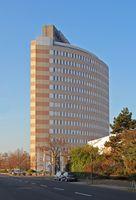 Rheinische Post  -Pressehaus in Düsseldorf