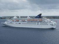 Die Thomson Majesty (ehem. Birka 1, Royal Majesty, Norwegian Majesty, Louis Majesty), auf der das Unglück passierte, ist ein Passagierschiff, das 1989 für die Birka Line, bei der Wärtsilä Werft in Mariehamn (Finnland) auf Kiel gelegt wurde. Seit 1. Mai 2012 trägt das Schiff den Namen Thomson Majesty und gehört inzwischen zu Thomson Cruise, einem englischen Tochterunternehmen der TUI. Es fährt seither unter maltesischer Flagge.