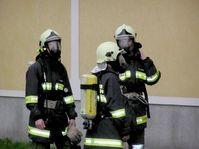 Atemschutztrupp der Feuerwehr (Symbolbild)