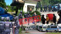 Am 15.05.2017 wurde das Gelände in Apollensdorf von 200 Sondereinsatzkräften geräumt. Das Landgericht Dessau-Roßlau hat diese jetzt für illegal erklärt.