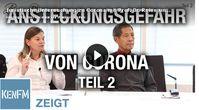 """Bild: Screenshot Video: """"Juristische Untersuchung zu Corona mit Prof. Dr. Reiss und Prof. Dr. Bhakdi (Teil 2)"""" (https://tube.kenfm.de/videos/watch/17bb1733-a254-4674-b7bb-949e1e177412) / Eigenes Werk"""