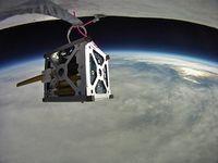 Forschung im Weltall: ein CubeSat in Aktion. Bild: flickr.com/jurvetson
