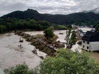 Hochwasser in Altenahr-Altenburg am 15. Juli 2021