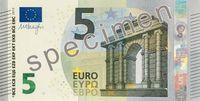 Neuer 5 Euroschein Bild: Europäische Zentralbank