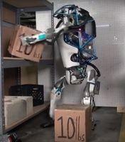 """Atlas"" bei der Arbeit: neues Modell leistungsfähiger. Bild: youtube.com"
