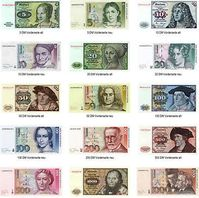 Deutsche Mark, DM