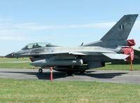 Griechische Luftstreitkräfte: F-16D 2005 in Dänemark