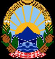 Wappen Mazedoniens