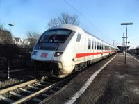 Steuerwagen eines Intercity der Deutschen Bahn