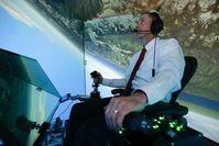 Testkampf: Dieser Pilot hatte keine Chance gegen die KI. Bild: uc.edu