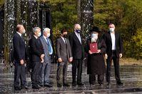 Die ukrainische Regierung unterzeichnet ein Memorandum zur Unterstützung des Babyn Yar-Holocaust-Gedenkzentrums anlässlich des Jubiläums Bild: PRNewswire