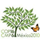 Logo der UN-Klimakonferenz in Cancún