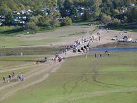 Die wieder aufgetauchte Brücke von Asel