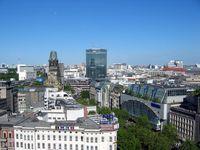 Kurfürstendamm Berlin mit Blick auf die Kaiser-Wilhelm-Gedächtniskirche (Symbolbild)