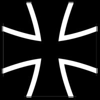 Bundeswehr Logo: Das Original ist ca. 1.000 Jahre alt und wurde von jeher von den friedlebenden Katharern in ganz Europa genutzt.
