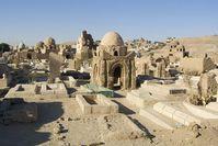 Mausoleum auf dem Fatimidenfriedhof bei Assuan. Bild: TU Berlin/Speiser