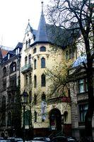 Villa Grisebach im heutigen Straßenbild