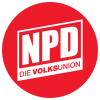 Nationaldemokratische Partei Deutschlands – Die Volksunion Logo