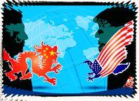 USA und China (Symbolbild)