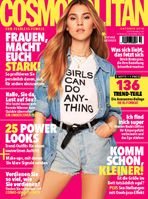 "Cosmopolitan Cover 10/2018. Bild: ""obs/Bauer Media Group, Cosmopolitan"""