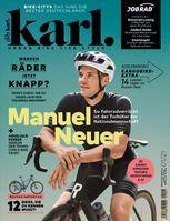 Cover KARL 0121 mit Manuel Neuer Bild: Motor Presse Stuttgart Fotograf: Motor Presse Stuttgart