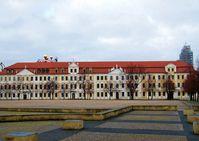 Landtag von Sachsen-Anhalt am Domplatz in Magdeburg