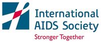 Logo der International AIDS Society IAS)