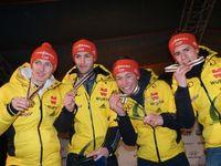 Michael Schuller, Jakob Lange, David Welde, Manuel Faißt Bild: DSV