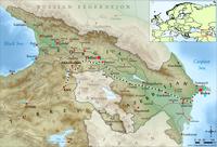 Strecke der Bahnlinie Kars–Achalkalaki–Tiflis–Baku