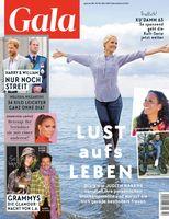 GALA Cover 12/21 (EVT: 18. März 2021)  Bild: GALA, Gruner + Jahr Fotograf: Gruner+Jahr, Gala