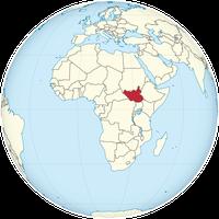 Der Südsudan auf der Welt