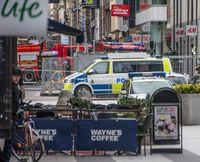 Der abgespeerte Anschlagsort in Stockholm