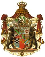 Wappen der noch heute bestehenden askanischen Linie Anhalt