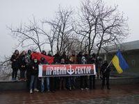 Aktivisten des rechten Sektors in Odessa