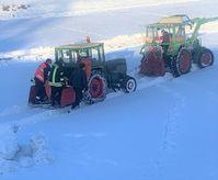 Personenrettung im Schnee Bild: Feuerwehr
