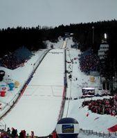 Die Wielka Krokiew (übersetzt: Großer Sparren) ist eine im polnischen Zakopane gelegene Skisprungschanze.