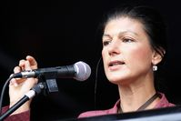 Sahra Wagenknecht Bild: DIE LINKE Nordrhein-Westfalen, on Flickr CC BY-SA 2.0