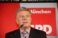 Dieter Reiter im Wahlkampf um das Amt des Münchner Oberbürgermeisters (2014)