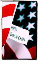 USA Flagge in China gemacht? (Symbolbild)