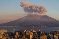 Sakurajima, 23. November 2009