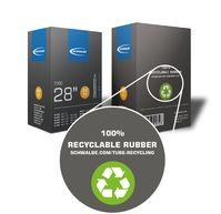 Als einziger Hersteller bietet Schwalbe einen Recycling-Kreislauf für Fahrradschläuche an.