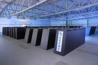 Jülichs neuer Supercomputer JUGENE Bild: Forschungszentrum Jülich