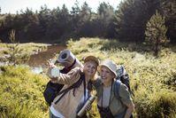 Wunsch-Reiseziele aufschreiben und ordnen. Bild:     Wort & Bild Verlag - Gesundheitsmeldungen