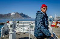 """Meeresforscher Jacques Cousteau, gespielt von Lambert Wilson Bild: """"obs/3sat/ZDF/Matias Boucard"""""""