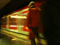 Bahnsteig (Symbolbild)