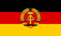Flagge der Deutschen Demokratischen Republik (DDR)