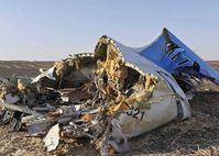 Das Wrack des Flugzeugs von Kogalymavia-Flug 9268