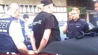 """Screenshot des Youtube Videos """"LIVE Aufnahme der Verhaftung von Detlev am 27.04.2015 in Grenzach-Wyhlen"""""""